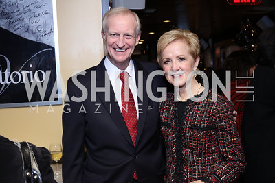 Jack Evans, Ann Stock. Photo by Tony Powell. WL & Cafe Milano 25th Anniversary. December 5, 2016