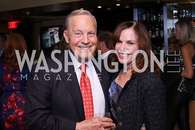 Robert Heggestad, Carole Feld. Photo by Tony Powell. WL & Cafe Milano 25th Anniversary. December 5, 2016