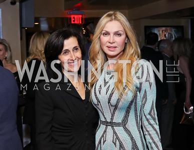 Dina Kawar, Rima Al-Sabah. Photo by Tony Powell. WL & Cafe Milano 25th Anniversary. December 5, 2016