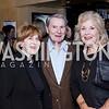 Kate Lehrer, Jim Lehrer, Patricia Harrison. Photo by Tony Powell. WL & Cafe Milano 25th Anniversary. December 5, 2016