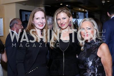 Juleanna Glover, Magdalena Wahid, Deborah Sigmund. Photo by Tony Powell. WL & Cafe Milano 25th Anniversary. December 5, 2016