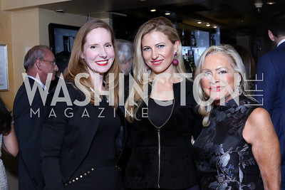 Juleanna Glover, Magdalena Wahid, Deborah Sigmund. Photo by Tony Powell. WL & Cafe Milano 25th Anniversary. December 5, 2016
