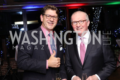 Lyndon Boozer, Don Sweitzer. Photo by Tony Powell. WL & Cafe Milano 25th Anniversary. December 5, 2016