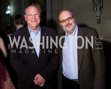 Robert Cole, Branko Milanovic. Photo by Erin Schaff. 2016. Washington International School 50th Anniversary Golden Gala. Andrew W. Mellon Auditorium. May 14, 2016.