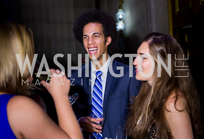 Cooper Cafritz. Photo by Erin Schaff. 2016. Washington International School 50th Anniversary Golden Gala. Andrew W. Mellon Auditorium. May 14, 2016.