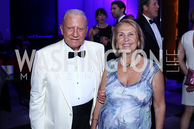 Giuseppe and Gabrielle Cecchi. Photo by Tony Powell. Watergate Grand Re-Opening. June 14, 2016