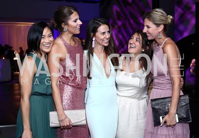 Abby Jiu, Lauryn Prattes, Cori Sue Morris, Alana Marsili, Meg Biram. Photo by Tony Powell. Watergate Grand Re-Opening. June 14, 2016