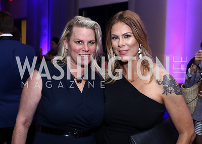 Cathy Merrill Williams, Kate Bennett. Photo by Tony Powell. Watergate Grand Re-Opening. June 14, 2016
