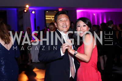 Robert Kang and Eun Yang. Photo by Tony Powell. Watergate Grand Re-Opening. June 14, 2016