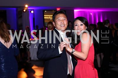 Robert Kang and Eun Yang. Photo by Tony Powell. Watergate Grand Re-Opening. June 14, 2016