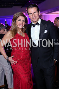 Elizabeth Webster, Vince De Paul. Photo by Tony Powell. Watergate Grand Re-Opening. June 14, 2016