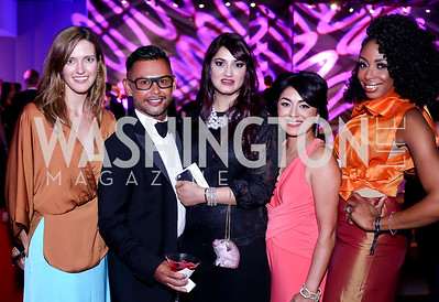 Claire Carlin, Erwin Gomez, Shivani Bajaj, Sab Shad, Joy Kingsley-Ibeh. Photo by Tony Powell. Watergate Grand Re-Opening. June 14, 2016