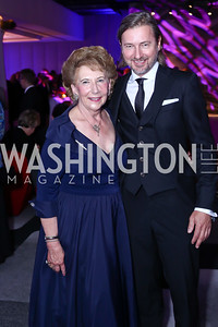 Margret De Galffy, Christopher Reiter. Photo by Tony Powell. Watergate Grand Re-Opening. June 14, 2016