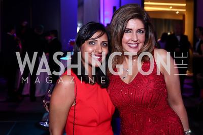 Sara Khetarpal, Elizabeth Webster. Photo by Tony Powell. Watergate Grand Re-Opening. June 14, 2016
