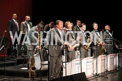 Igor Butman and the Moscow Jazz Orchestra. Photo by Tony Powell. Wynton Marsalis & Igor Butman with the Moscow Jazz Orchestra. Lincoln Theatre. October 21, 2016