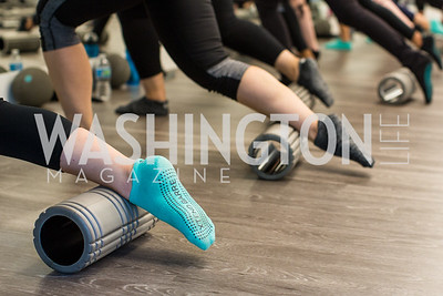 Photo by Erin Schaff. Xtend Barre Arlington Launch Party. Xtend Barre Arlington. September 10, 2016.