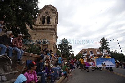 The Pet Parade through downtown Santa Fe on Saturday, September 10, 2016. Luis Sánchez Saturno/The New Mexican