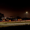 Chuck Knowles-Streaking car lights at night Boise Idaho