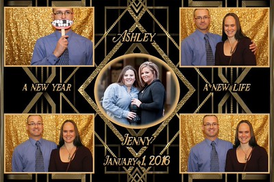 Anderson & Olson Wedding Photobooth 1.1.2016
