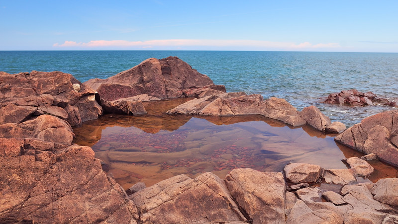 Rocky Pool by Dennis Hake. Taken at Seven Mile Point