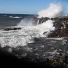 Huge waves at Seven Mile Point by David Owens.