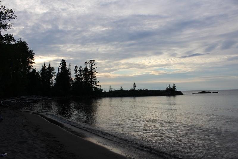 On The Beach by Ann Kopka Ryan. Taken at Seven Mile Point