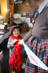 IMG_3590 elkie hayes,4, of windsor plays dress up with jessica rud, at right