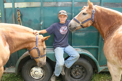IMG_7226 austin tracey,12, of bethel, with ponys , bob and tom
