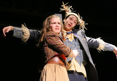 IMG_7716 dorothy (claire Saunders) and Scarecrow (toby Borzekowski)
