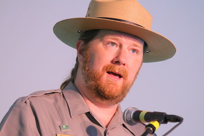 IMG_2855 national park superintendent Rick Kendall, who described how the music selections reflect different eras of park history