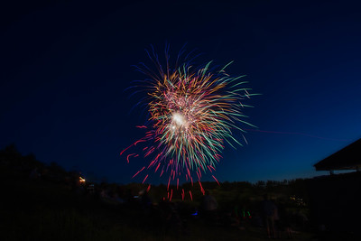 West Windsor 4th of July Fireworks 2016