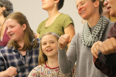 IMG_9499 Annabel Lapp at left, Molly Armbrust, 9, at center, julie derksen at r