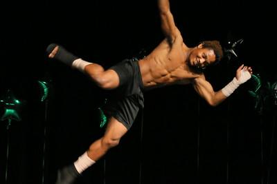 IMG_9985 Bill Wood doing a karate performance