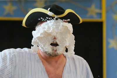 IMG_1375 andrew lane gets pie in face during battle between pirate ships