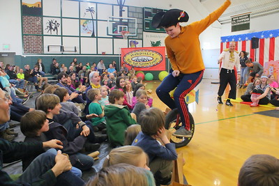 IMG_1536 wright frost on unicycle scares the audience