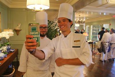 IMG_6952 chefs  chris longer and julian escobar take a photo