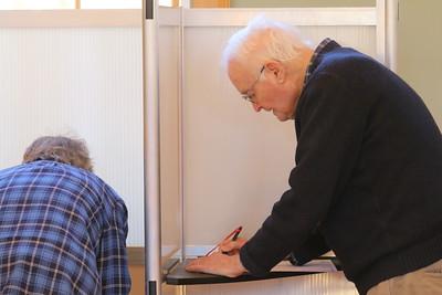 IMG_4739 john larson votes in  barnard