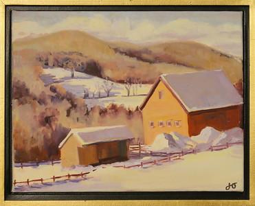 IMG_5686 East Barnard Winter Barn,,by JJ Overstreet