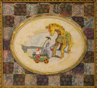 IMG_5694 The Offering,, by Lynda knisley,,,a cut paper collage