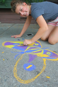 IMG_1975 CTWK,,Momo Biele ,,they did lots of chalk art on sidewalks