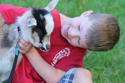 IMG_5613 reno halley,6, with Venus the goat owned by tina tuckerman