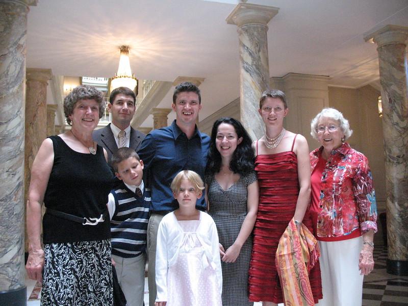 Vevey, Sarah's wedding