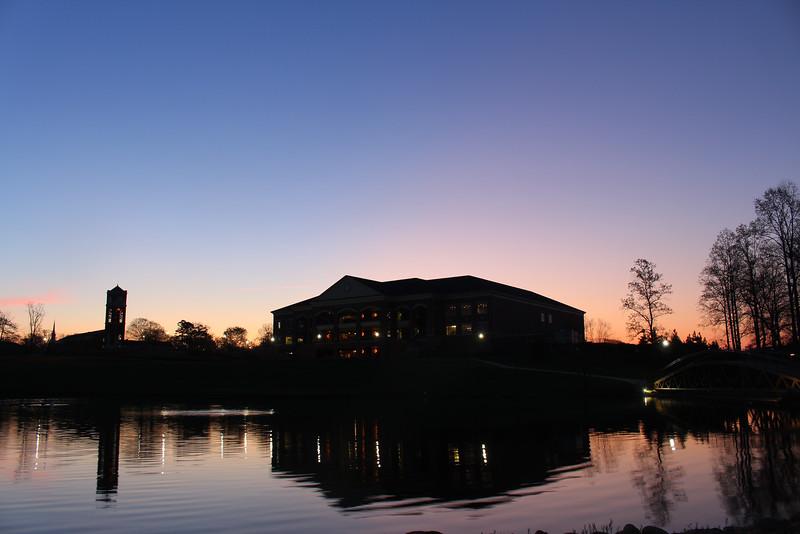 GWU Spring Sunrise 2016