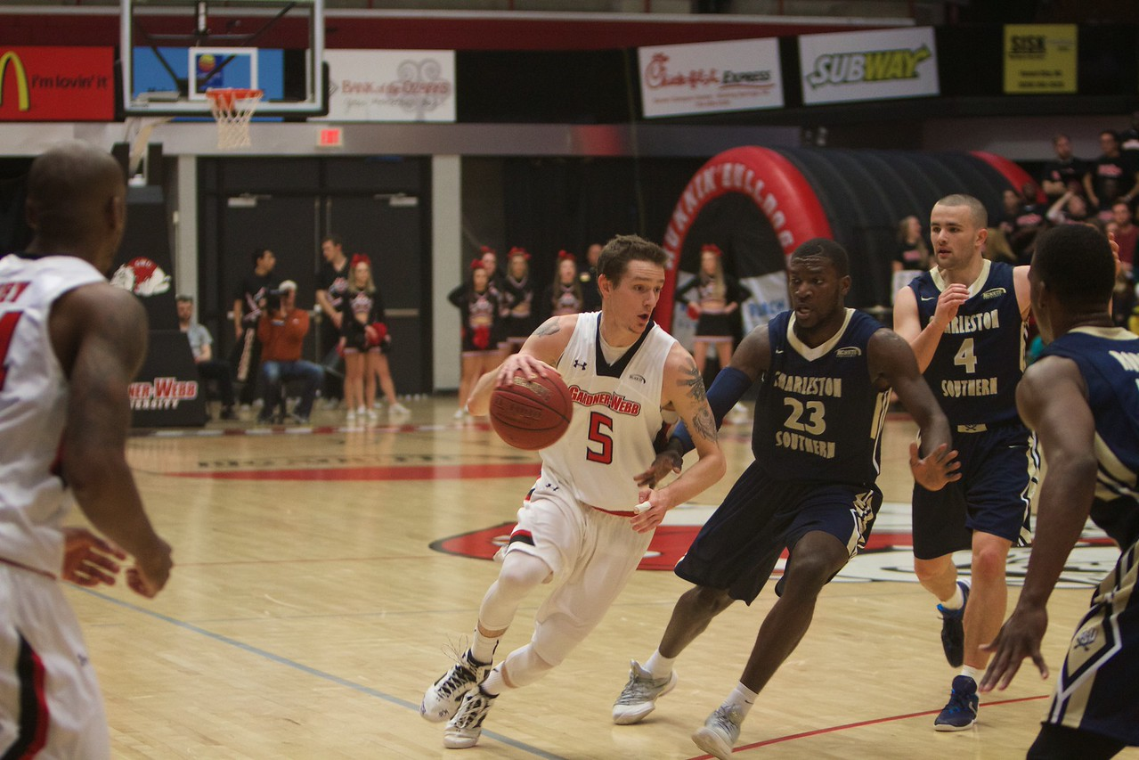 Men's Basketball v Charleston Southern; Spring 2016