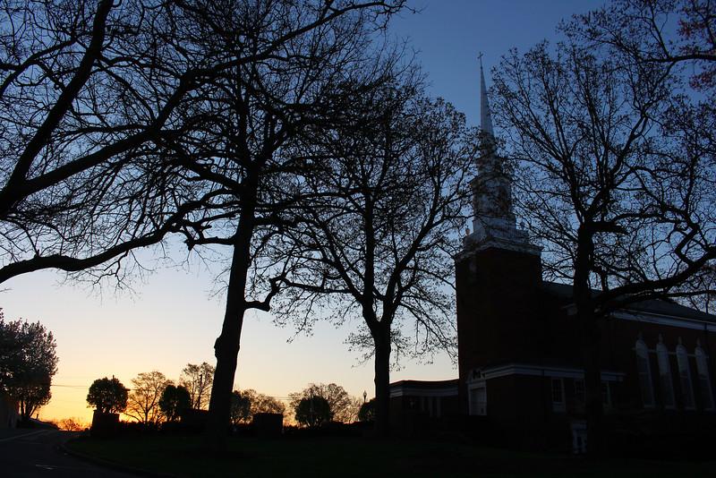 GWU Spring Chapel Sunrise 2016