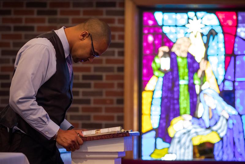 Chris Gash teaching Sunday School at Palmer Grove Baptist Church, NC. Summer 2016.