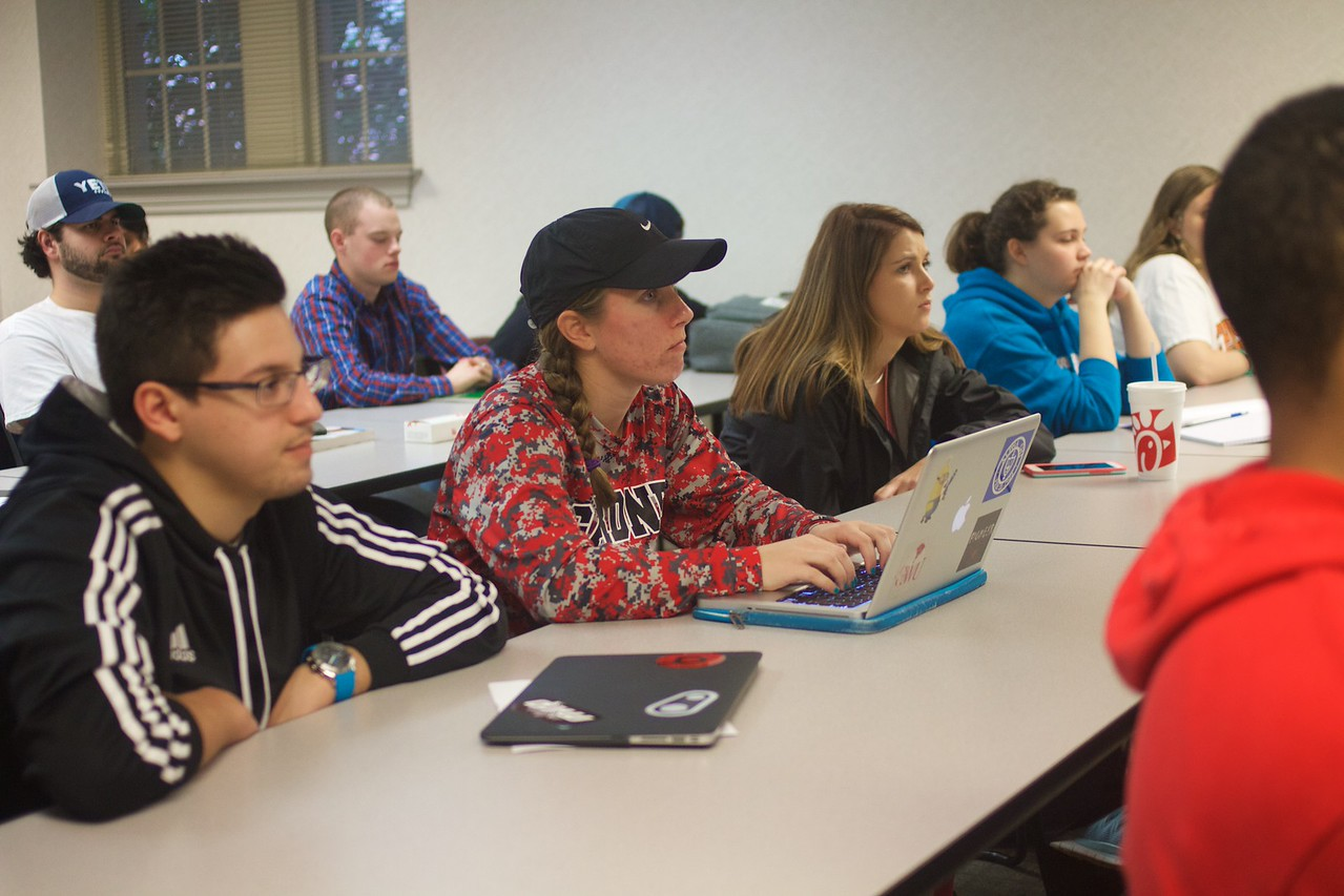 General Business classroom photos, Spring 2016.