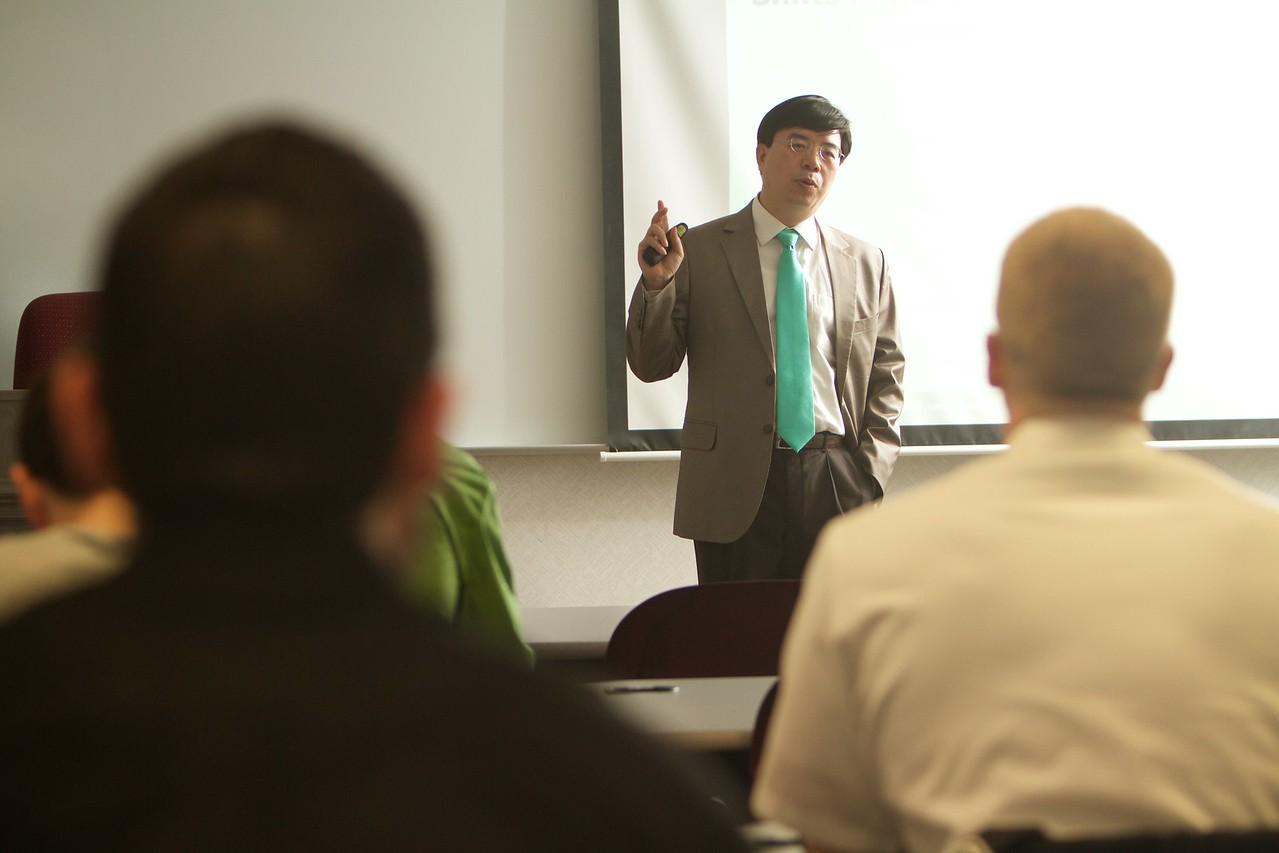 General Business classroom photos, Spring 2016.