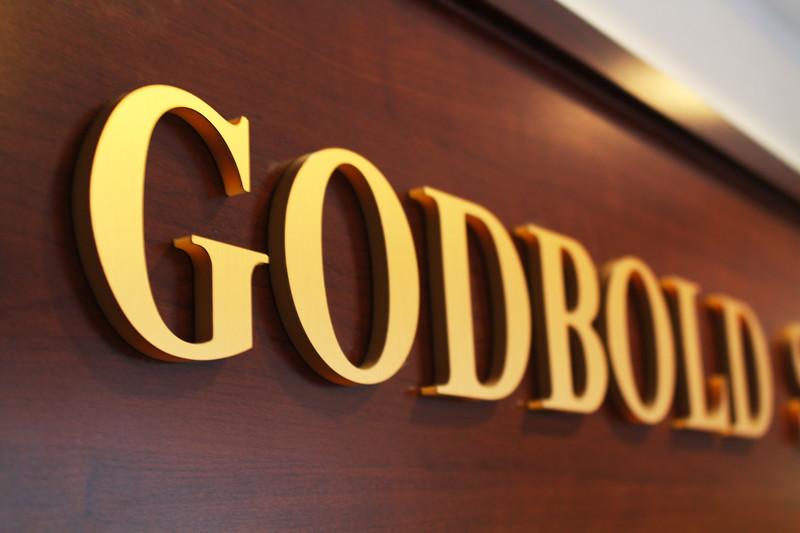 Godbold School of Business sign