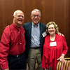 Parker with Gene and Katherine Hester. Monday, August 29, 2016, at special reception for Gene held at NCSU. Gene was Parker's committee chairman during his PhD studies at NCSU.